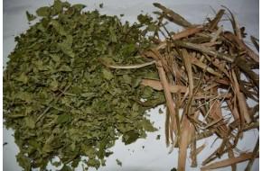 Лещины кора, лист, побеги,