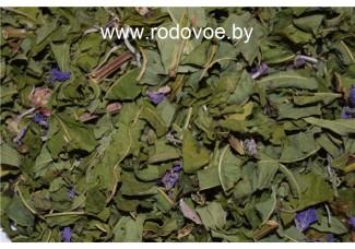 Кипрей узколистный (иван-чай), малина, сухие травы.