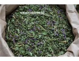 Кипрей (иван-чай). верхушки(лист, стебли, цвет)  + чабрец , растение (травы)Беларуси в сухом виде, купить ( бесплатная доставка).