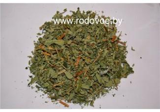 Репешок аптечный, репейничек, цветы, лист, стебель, трава репешка.